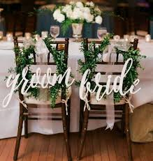 wedding chair signs groom chair signs i do inspirations wedding venues