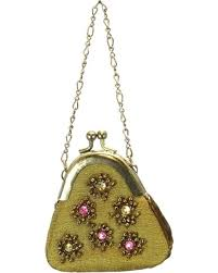 deal alert purse ornament gold