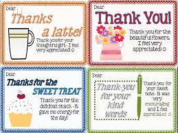 thank you notes from teachers to students freebie in the