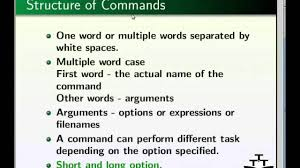 Different Names Of Green by 1 Linux Basic Commands English Iit Bombay Youtube