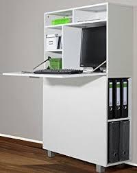 image de secretaire au bureau 6 6 5 2392 moderne secrétaire bureau cadre blanc 90 cm de large