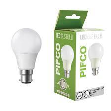Led Light Bulbs Ebay by Pifco 7w Energy Saving Led Gls Golf B22 Bayonet Cap Cool White