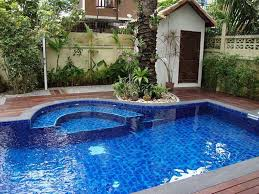 in ground swimming pool designs luxury swimming pool spa design
