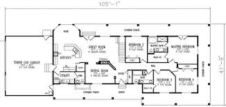 4 bedroom ranch style house plans 4 bedroom floor plans ranch homes floor plans