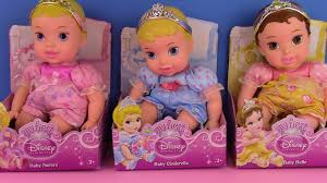 disney princess babies dolls baby aurora cinderella and belle