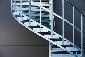 flamboyant modern staircase designs with glass steps treads and