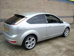 ford focus titanium silver used ford focus car 2008 silver petrol 1 8 titanium 3 door