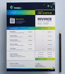 Illustration Invoice Template 35 Invoice Templates For Corporations Small Businesses