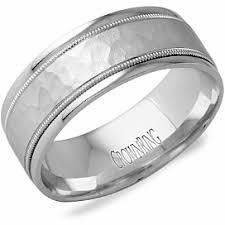 house wedding band hammered metal center cobalt band torque diamond