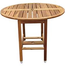 48 Inch Folding Table Amazon Com Achla Designs 48 Inch Round Folding Table Patio