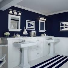 Navy Bathroom Accessories by Sea Inspired Bathroom Decor Bathroom Designs Boys And Kid Bathrooms