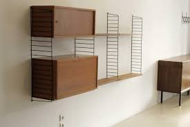 shelving unit by kajsa u0026 nils strinning for string 1950s for sale