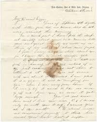letters from charles goddard and james m bowler u2013 october 5 1863