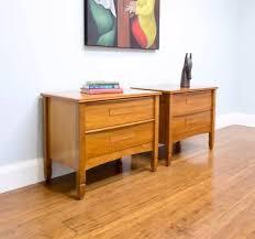 Vintage Bedside Tables Hans Hayson Bedside Tables Retro Vintage Parker Fler Bedside