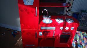 Kidkraft Kitchen Red - kidkraft wooden play kitchen red in woking surrey gumtree