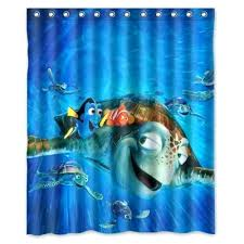 Teal And Brown Shower Curtain Finding Nemo Shower Curtain Hooks Home Design And Decoration
