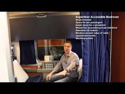 Superliner Bedroom Amtrak Superliner Accessible Bedroom Youtube