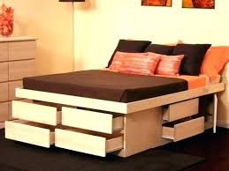 Ikea Platform Bed With Storage Ikea Platform Bed With Storage Cafedream Info