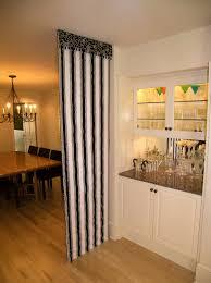 Classic Black And White Kitchen Interior Designs Minimalist Curtain Room Divider As Efficient