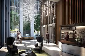 luxury apartment building lobby gen4congress design