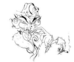 evil santa drawings images reverse search