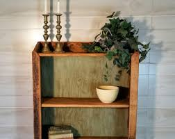 Barnwood Bookshelves by Reclaimed Wood Bookcase Etsy