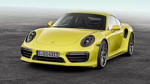Porsche 911 Yellow - download wallpaper 3840x2160 porsche 911 turbo s yellow front