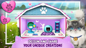 pet cat house decoration games apk download free lifestyle app