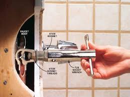 bathroom trendy moen tub spout diverter leaking 59 bathtub