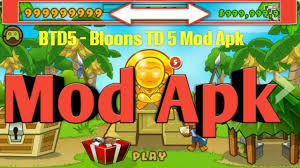 bloon tower defense 5 apk btd5 v3 6 1 bloons td 5 mod apk 3 6 1 free android