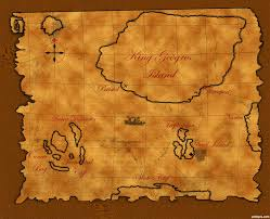Pirates Map Treasure Map Picture By Theudulf For Pirates Photoshop Contest