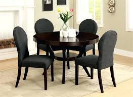 round kitchen table and chairs for 6 black round dining table and chairs round deep espresso dining table