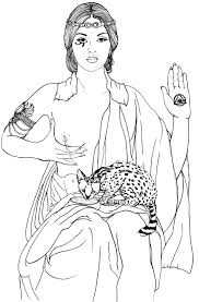 fine art coloring page coloring pages