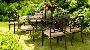 amalfi oval set amalfi cast aluminium garden furniture