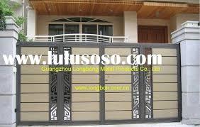 Modern Homes Main Entrance Gate Designs Timedlive In Gate - Gate designs for homes