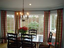 window treatments for bay windows in dining room 46 photos decor