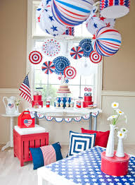 4th Of July Decoration Ideas All American Fourth Of July Party Anders Ruff Custom Designs Llc