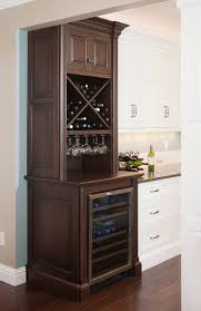 kitchen cabinet with wine glass rack wine fridge cabinet wine wine glass racks storage solutions