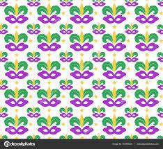 mardi gras paper mardi gras seamless pattern with carnival mask masquerade