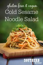 southern in law recipe cold sesame noodle salad gf vegan