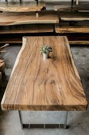 Best  Natural Wood Table Ideas On Pinterest Natural Wood - Wooden table designs images