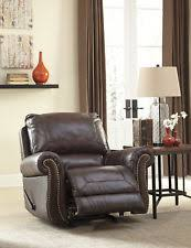 Leather Match Upholstery Ashley Furniture Recliner Chairs Ebay