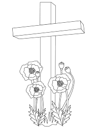remembrance coloring pages veterans coloring pages 17