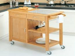 Kitchen Island With Open Shelves Kitchen Islands On Wheels With Seating Red Shapely Kitchen Island