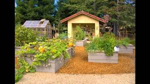 simple small raised bed vegetable garden design ideas youtube