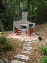 Backyard Fireplace Plans by Outdoor Fireplace Designs Diy Backyard Landscaping Photo Gallery