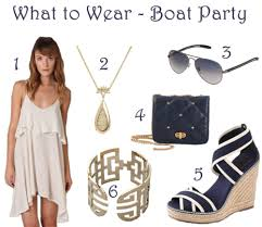 what to wear to a boat party the style scribe