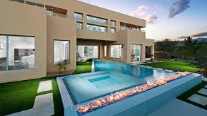 Modern Firepits 15 Dramatic Modern Pool Areas With Pits Home Design Lover