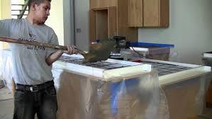 How To Make A Concrete Bench Top Countertop Countertop Diy Concrete Tutorial Impressive How To