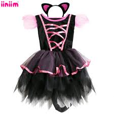 black cat halloween costumes for girls online get cheap kids black cat halloween costume aliexpress com